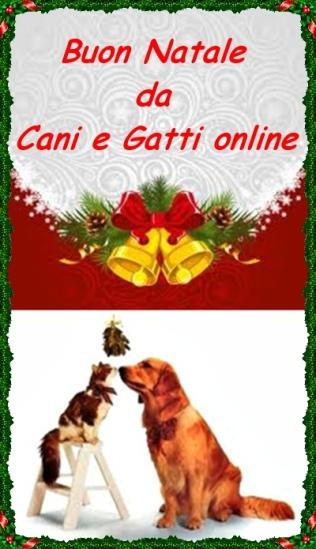 Buon Natale Cani e Gatti online