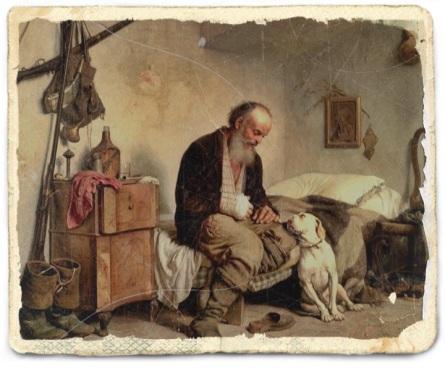 lettera di un anziano al suo cane